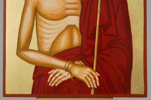 Christ the Bridegroom Icon Hand Painted Orthodox Byzantine