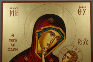 Theotokos Great Grace Hand-Painted Greek Icon