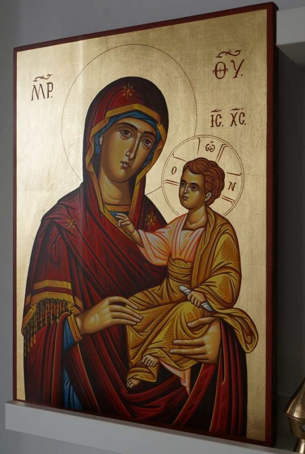 Mother of God the Guide Hand-Painted Icon