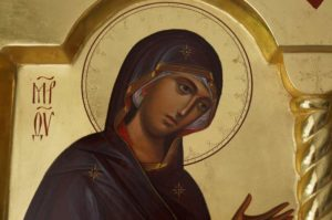 Theotokos Supplicating Deesis Icon Orthodox Byzantine