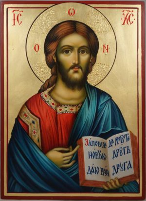 Jesus Christ the Teacher Hand-Painted Orthodox Icon