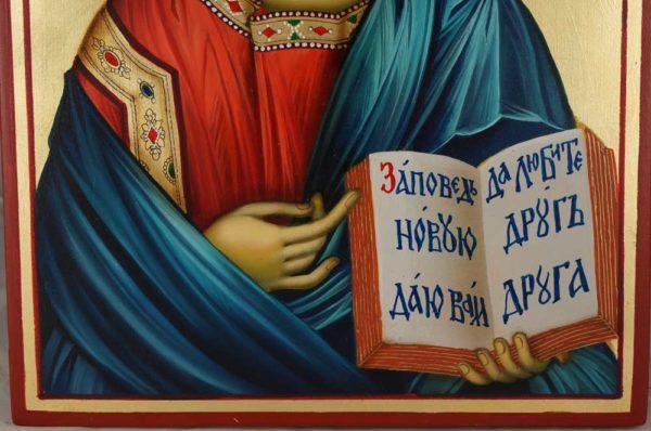 Jesus Christ the Teacher Hand-Painted Orthodox Icon