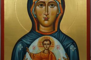 Mother of God (Oranta) Orans Hand-Painted Russian Orthodox Icon