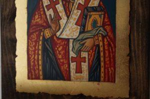 St Nicholas of Myra small Hand Painted Byzantine Icon