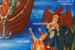 Ark of Salvation The Mystical Icon of our Holy Orthodox Church Hand-Painted Icon