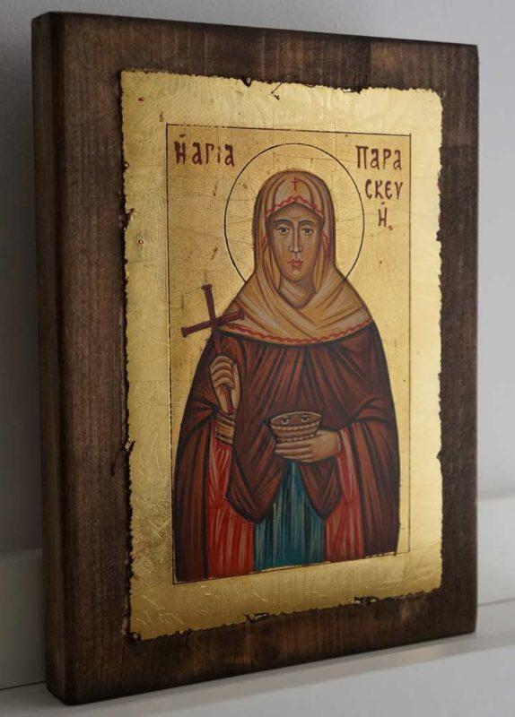 Saint St Paraskevi Paraskeva Petka Hand Painted Orthodox Icon