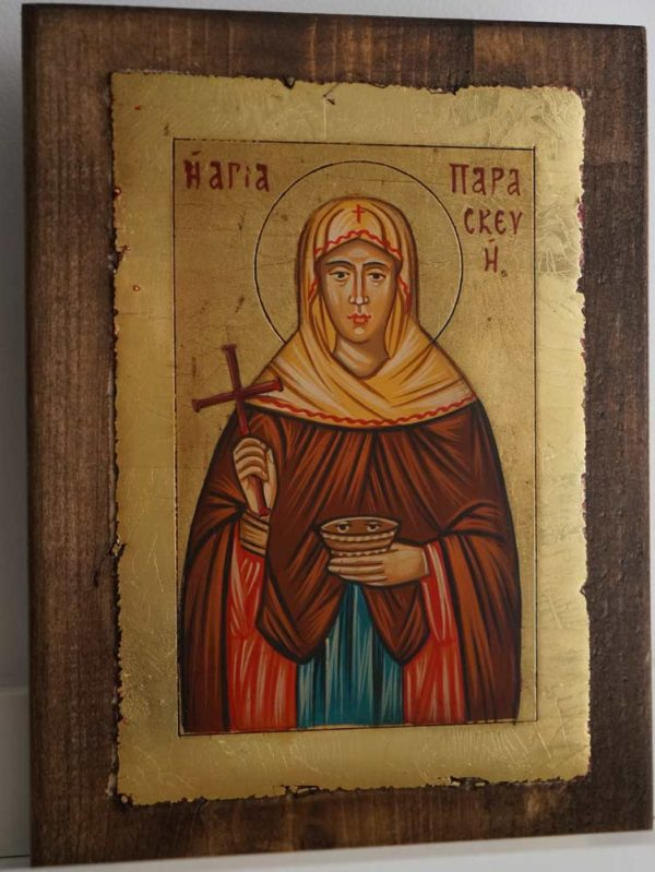 Saint St Paraskevi Paraskeva Petka Hand Painted Orthodox Icon