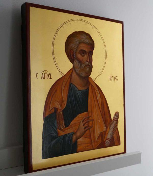 St Saint Apostle Peter Hand-Painted Orthodox Icon