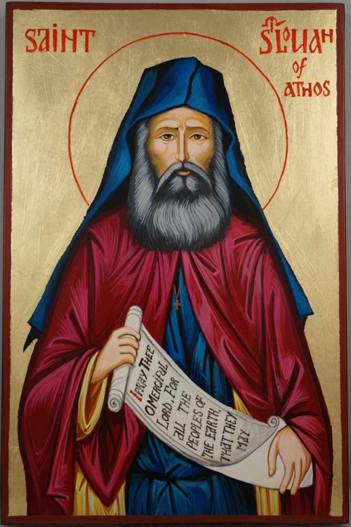 Saint Silouan of Athos Hand-Painted Orthodox Icon