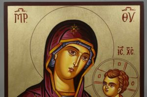 Virgin Mary Hodegetria (Guide) Hand-Painted Icon