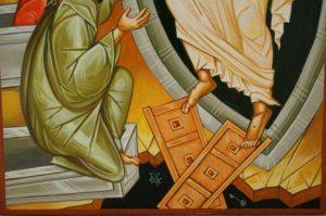 Anastasis (The Resurrection) Hand-Painted Orthodox Icon