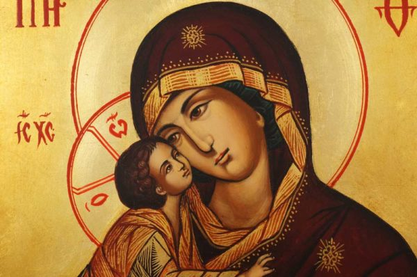 Our Lady of the Don Hand-Painted Orthodox Icon