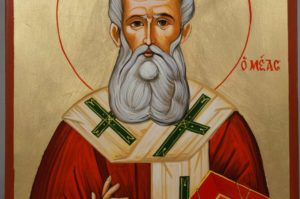 St Athanasius the Great Hand-Painted Greek Orthodox Icon
