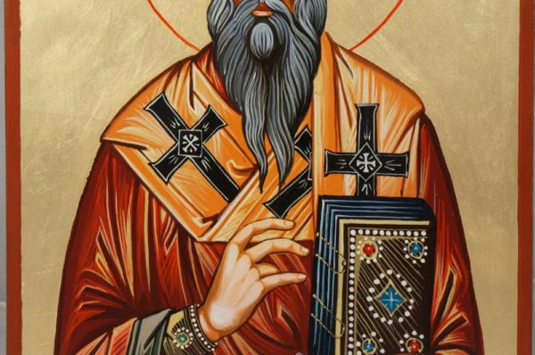 Saint James Brother of the Lord Hand-Painted Icon