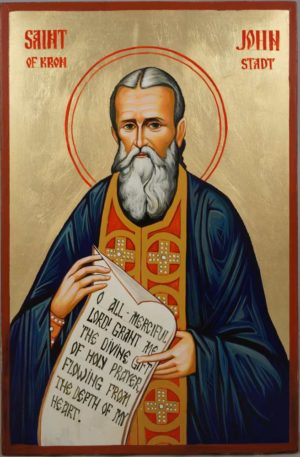 St John of Kronstadt Hand-Painted Orthodox Icon