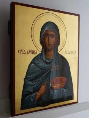 Saint St Paraskevi Paraskeva Petka Hand-Painted Orthodox Icon