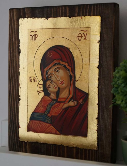 Vladimirskaya Mother of God Hand-Painted Orthodox Icon