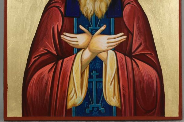 St Silouan the Athonite Hand-Painted Orthodox Icon