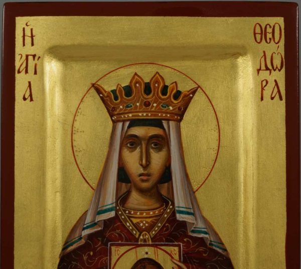 St Theodora the Empress Hand-Painted Orthodox Icon