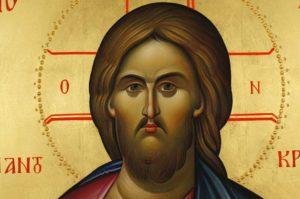 Christ the Teacher (Pantokrator) Hand-Painted Orthodox Byzantine Icon