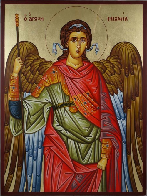 Saint St Archangel Michael Hand-Painted Orthodox Icon
