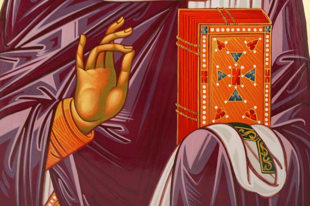 St Saint Nicholas of Myra Hand-Painted Byzantine Orthodox Icon