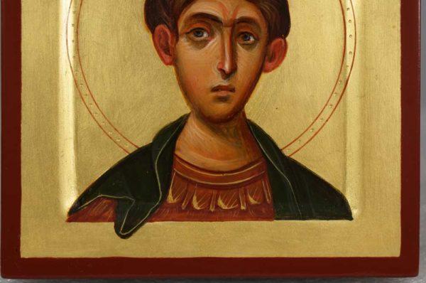 St Demetrius of Thessaloniki Hand-Painted Greek Icon