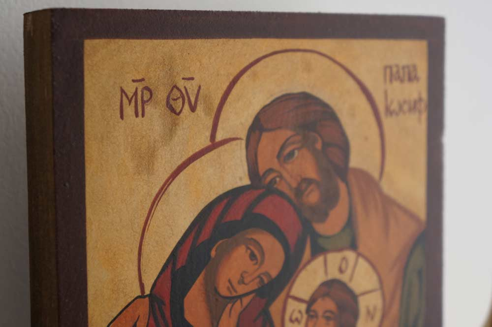 The Holy Family (small) Hand-Painted Orthodox Icon