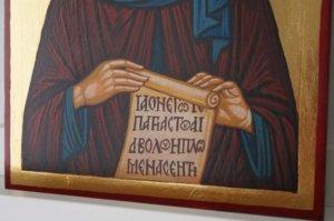 Saint Anthony of Egypt Hand Painted Orthodox Icon on Wood