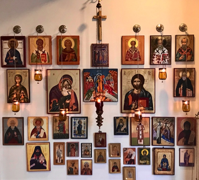 BlessedMart Review Prayer Corner Home Altar Hand-Painted Orthodox Icons 1