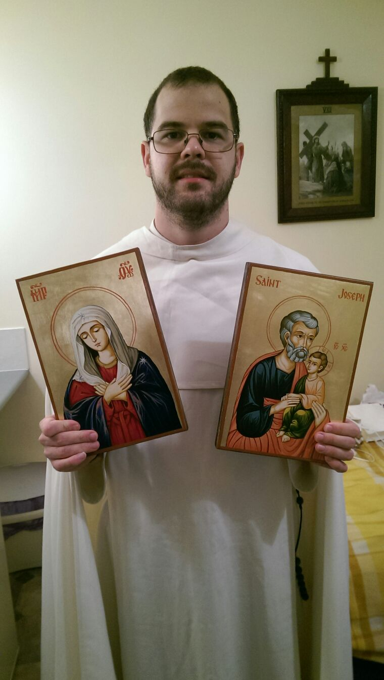 BlessedMart Review Prayer Corner Home Altar Hand-Painted Orthodox Icons 3