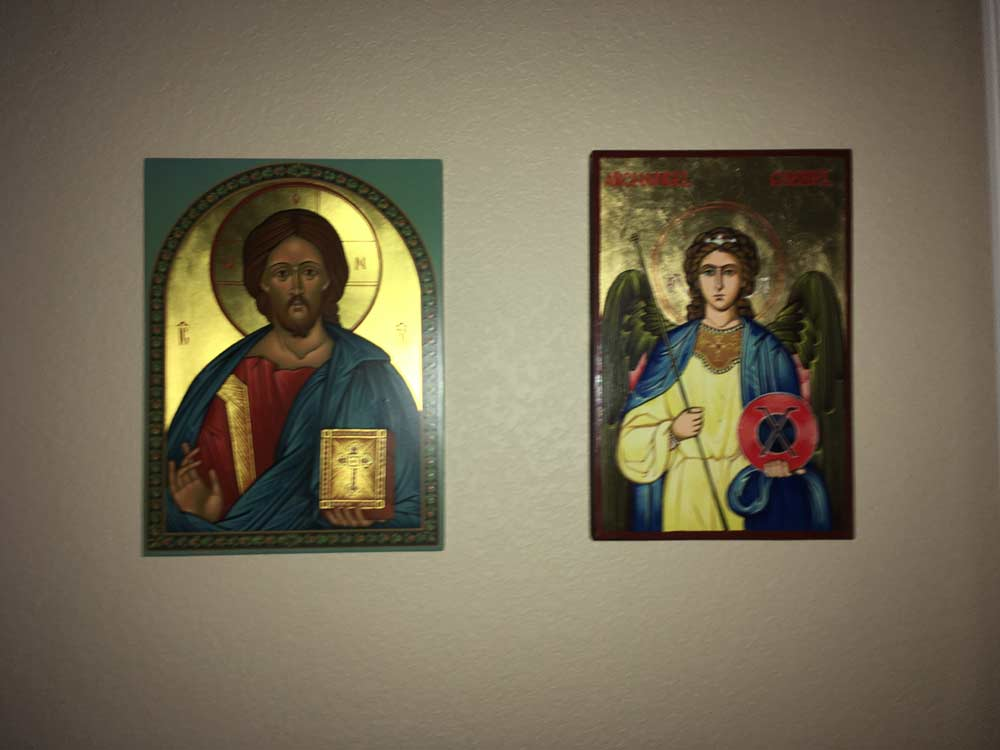BlessedMart Review Prayer Corner Home Altar Hand-Painted Orthodox Icons