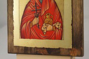 Saint Mary Magdalene small Hand Painted Orthodox Icon on Wood