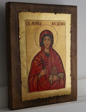 Saint St Mary Magdalene Hand Painted Orthodox Icon