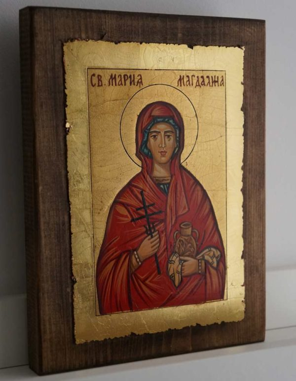 Saint St Mary Magdalene Hand Painted Orthodox Icon