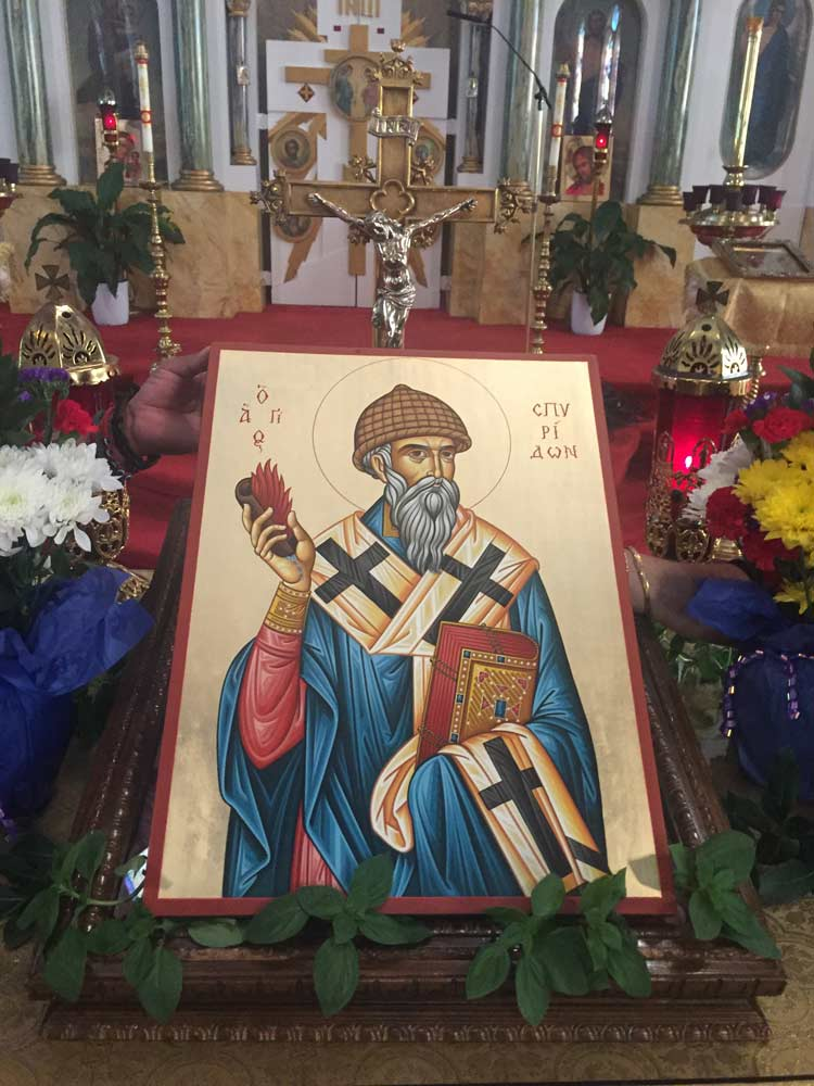 St Spyridon Church New York BlessedMart Review Prayer Corner Home Altar Hand-Painted Orthodox Icons