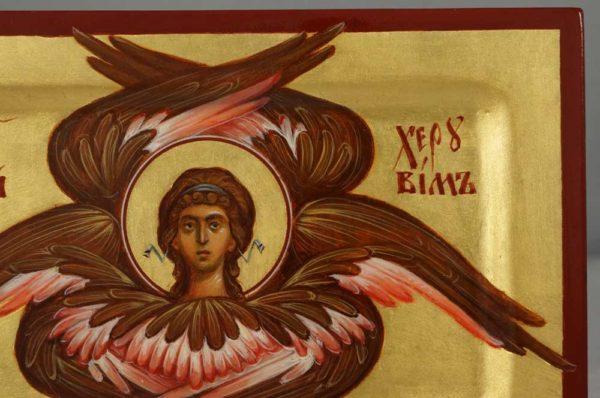 Cherub (miniature) Cherubim Hand-Painted Orthodox Icon