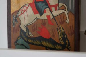 St George Slaying the Dragon (small) Hand-Painted Icon