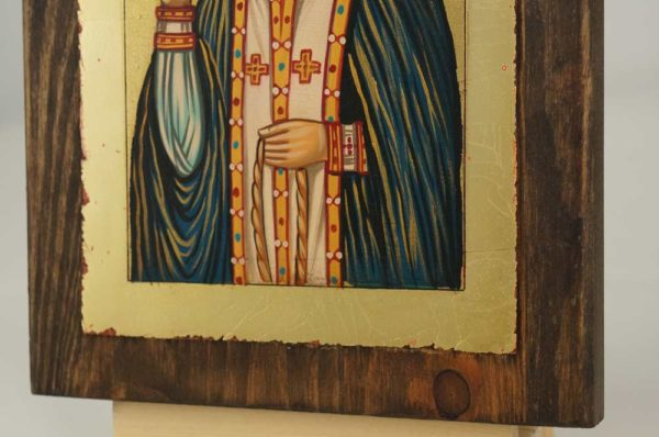 St Seraphim of Sarov small Hand Painted Orthodox Icon
