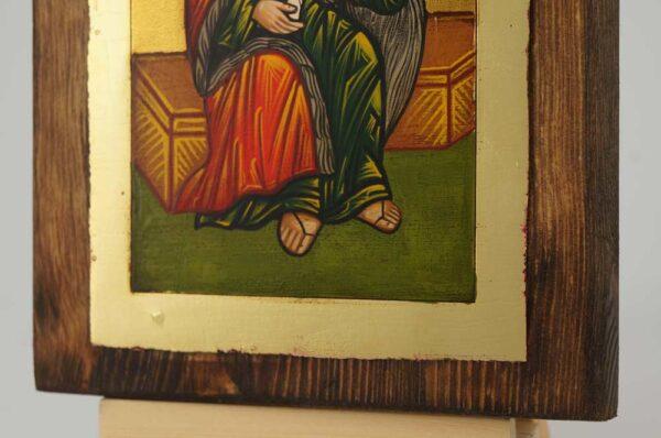 Holy Prophet Elijah small Icon Hand Painted Byzantine Orthodox