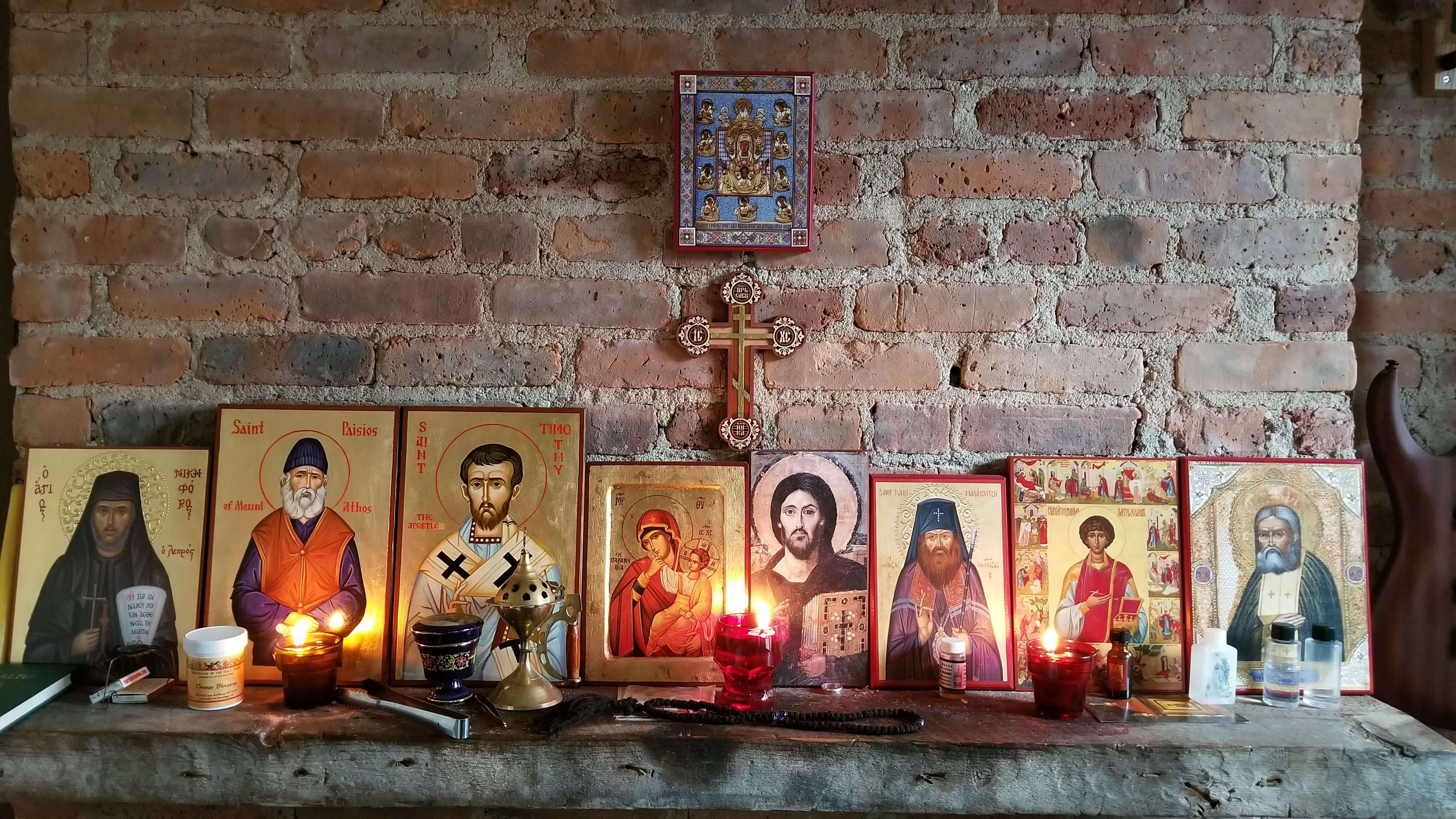 BlessedMart.com Customer Review Testimonial Home Altar St Timothy St Paisios of Mt Athos 1