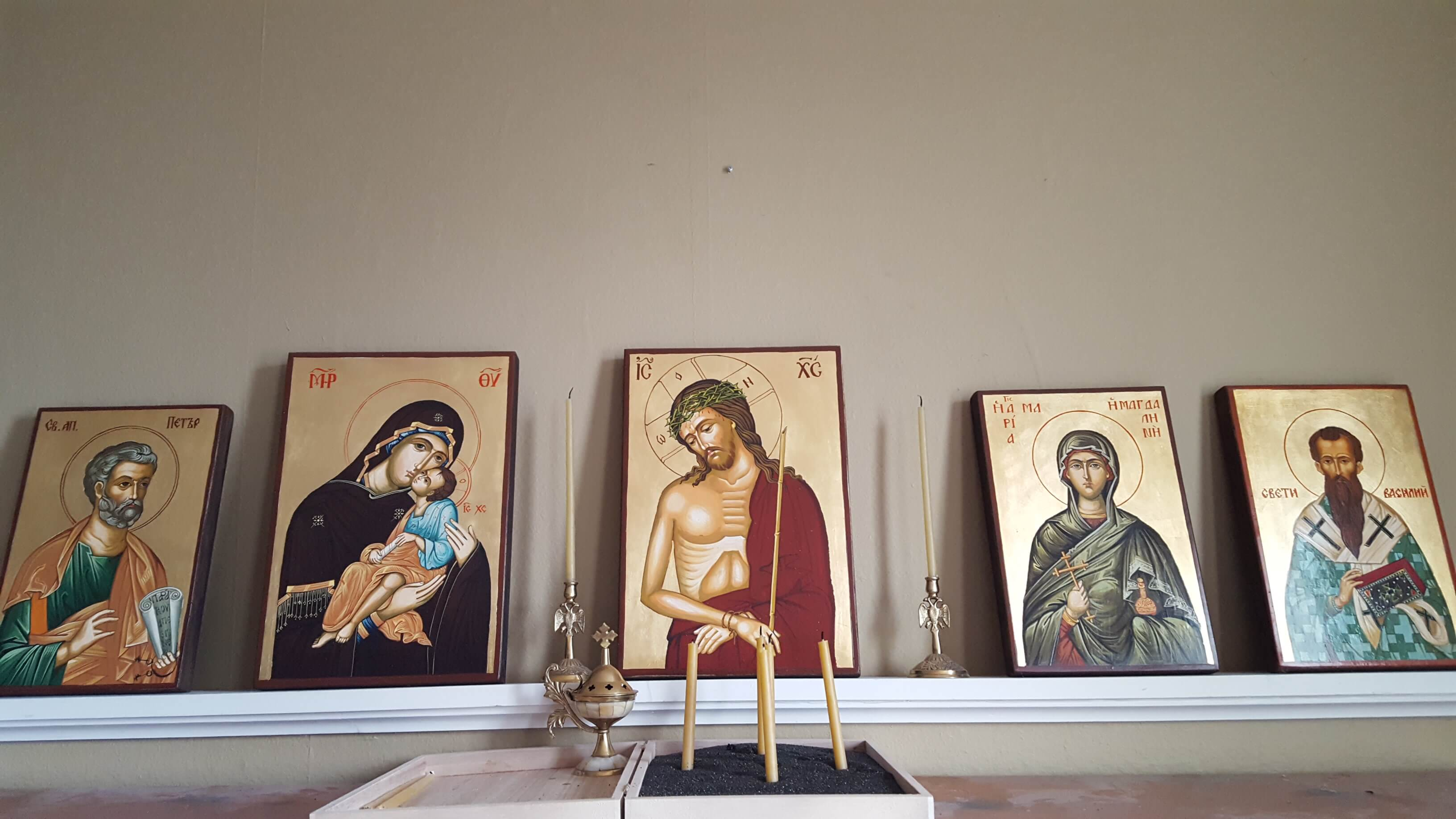 BlessedMart.com Customer Testimonial Review Hand-Painted Icons Home Altar Iconostasis