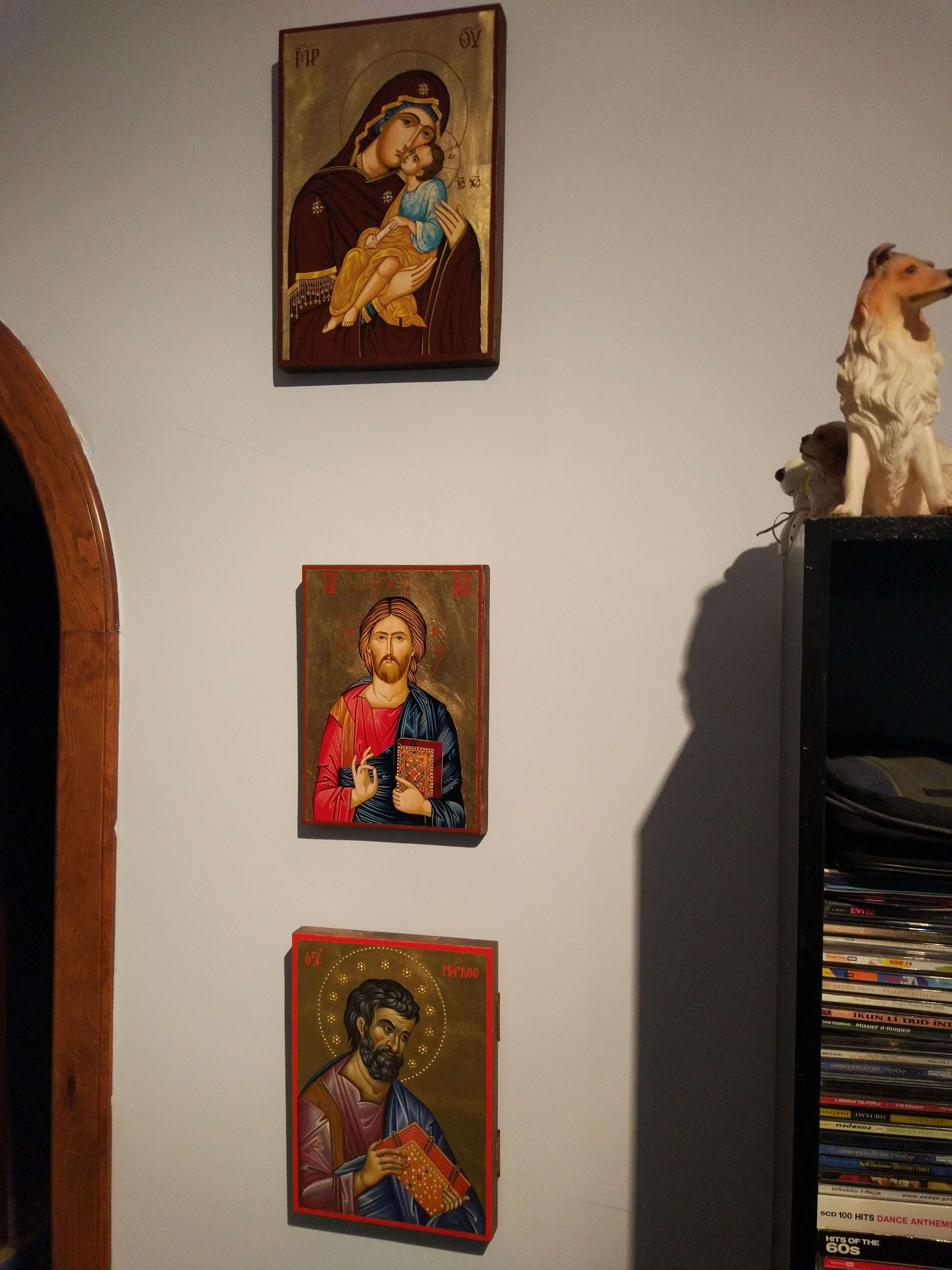 BlessedMart.com Customer Testimonial Review Hand-Painted Icons Home Altar