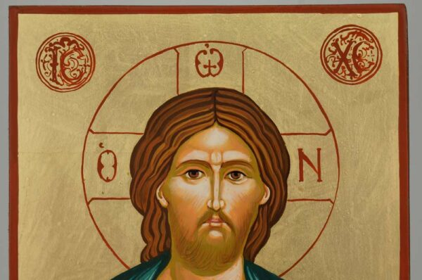 Christ the Good Shepherd Icon Orthodox Hand Painted