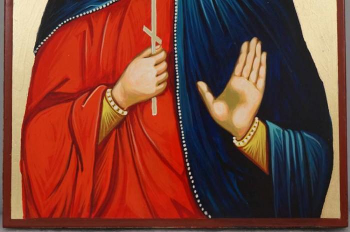 Saint Nazar Hand-Painted Orthodox Icon