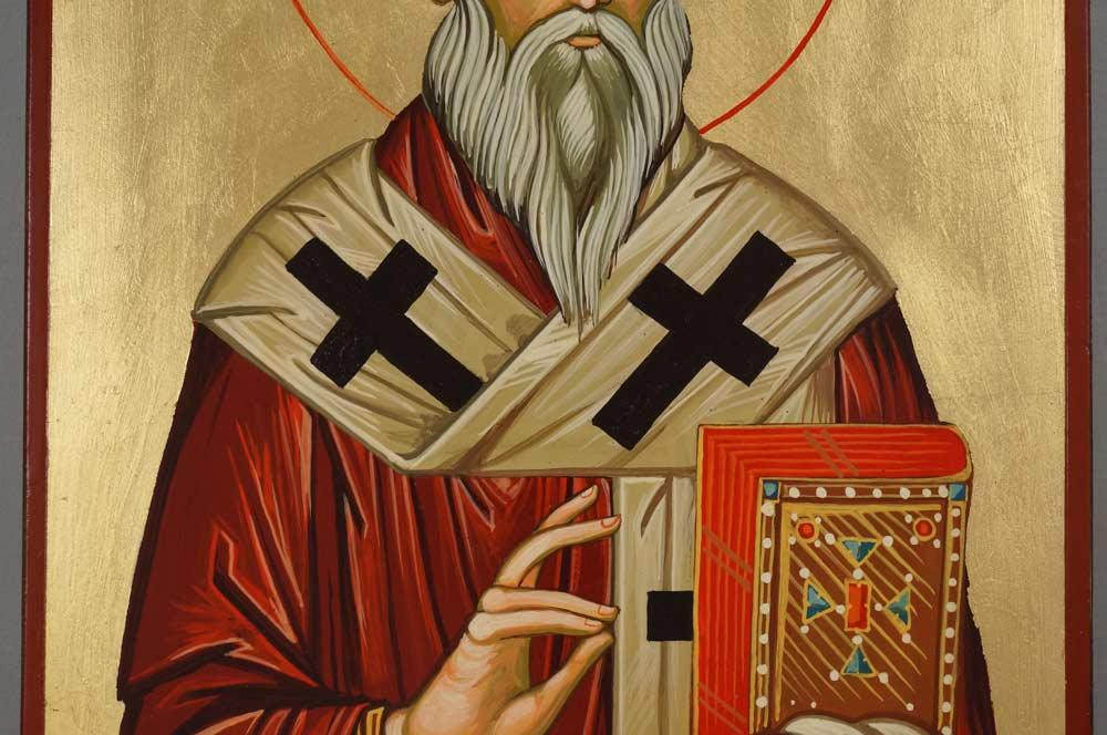 St Saint Linos Hand-Painted Orthodox Icon