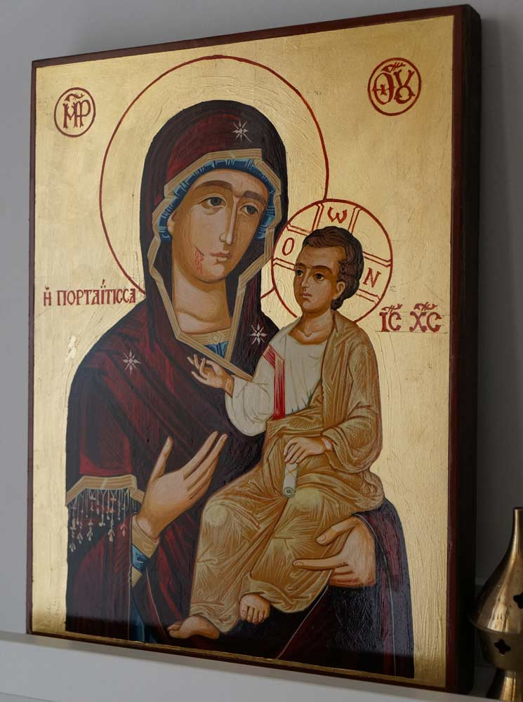 Wonderworking Montreal (Hawaiian) Iveron Hand-Painted Orthodox Icon