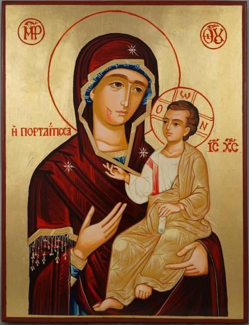 Wonderworking Montreal (Hawaiian) Iveron Hand-Painted Orthodox Icon
