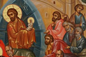 Dormition of the Mother of God Hand-Painted Orthodox Icon