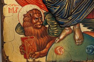 Jesus Christ in Glory (Cretan) Hand-Painted Byzantine Orthodox Icon